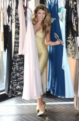 Amy Willerton Reveals her AW14 Collection for KEY Fashions in Soho, London 04/11/2014 5