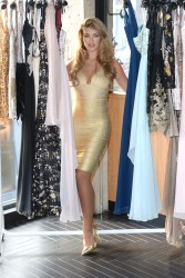 Amy Willerton Reveals her AW14 Collection for KEY Fashions in Soho, London 04/11/2014 27