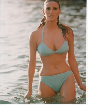 Raquel Welch: Incredibly Sexy In Turquoise Bikini - HQ x 1
