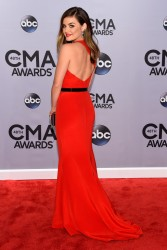 Lucy Hale - 48th Annual CMA Awards in Nashville 11/5/14