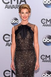 Faith Hill - 48th Annual CMA Awards in Nashville 11/5/14