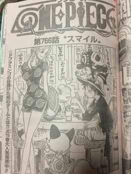One Puece Manga 766: Spoiler A13c7a362562950