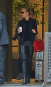 Gwyneth Paltrow walks and talks with a gal pal on the streets of NYC November 4-2014 x17
