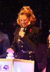 Cheryl Fernandez-Versini Cole Switches on the Oxford Street Christmas Lights in London 06/11/2014 44