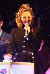 Cheryl Fernandez-Versini Cole Switches on the Oxford Street Christmas Lights in London 06/11/2014 38