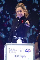 Cheryl Fernandez-Versini Cole Switches on the Oxford Street Christmas Lights in London 06/11/2014 11