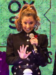 Cheryl Fernandez-Versini Cole Switches on the Oxford Street Christmas Lights in London 06/11/2014 1