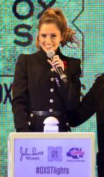 Cheryl Fernandez-Versini Cole Switches on the Oxford Street Christmas Lights in London 06/11/2014 2