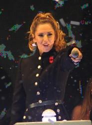 Cheryl Fernandez-Versini Cole Switches on the Oxford Street Christmas Lights in London 06/11/2014 36