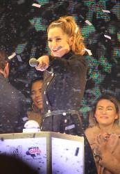 Cheryl Fernandez-Versini Cole Switches on the Oxford Street Christmas Lights in London 06/11/2014 25