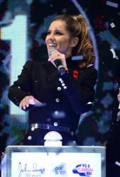 Cheryl Fernandez-Versini Cole Switches on the Oxford Street Christmas Lights in London 06/11/2014 8