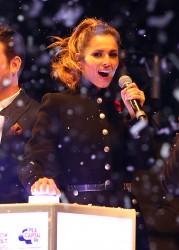 Cheryl Fernandez-Versini Cole Switches on the Oxford Street Christmas Lights in London 06/11/2014 50