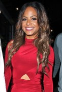 Christina Milian - Out in the evening in Los Angeles 06-11-2014