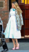 Blake Lively - Out & About in NYC 11/8/14
