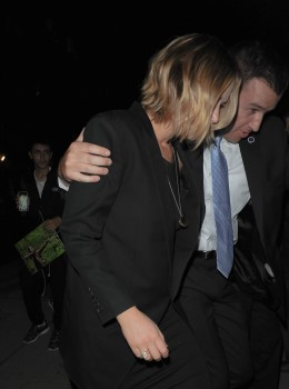 Jennifer Lawrence Going to Dinner in NYC 11/12/14 8