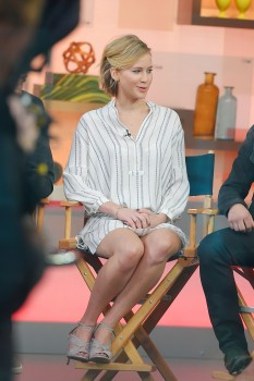 Jennifer Lawrence 'Good Morning America' in NYC 11/13/14 19