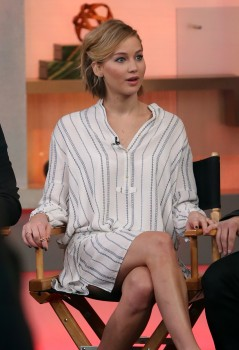 Jennifer Lawrence 'Good Morning America' in NYC 11/13/14 2