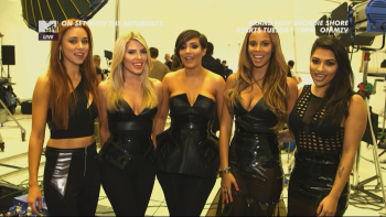 The Saturdays - On Set With...Not Giving Up 1080i