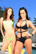 Lisa Ann - Quite The Pair w/ Belle Knox x12