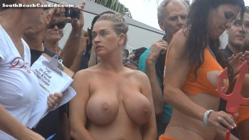 Can big tits wet t shirt contest remarkable, very