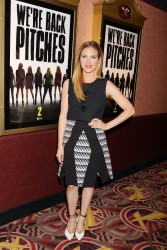 Britanny Snow Pitch Perfect Sing Along Screening in NY 11/19/14 9