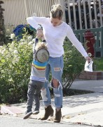 Hilary Duff - Getting breakfast in West Hollywood 11/23/14