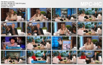 Jennifer Aniston - The Ellen DeGeneres 2014 11 25