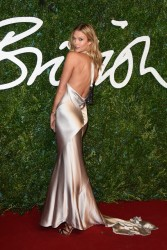 Karlie Kloss - 2014 British Fashion Awards in London 12/1/14