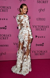 Candice Swanepoel - 2014 Victoria's Secret Fashion Show After Party in London 12/2/14
