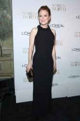 Julianne Moore - L'Oreal Paris' Ninth Annual Women Of Worth Celebration in NYC 12/2/14