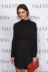 Katie Holmes - Valentino Sala Bianca 945 Event in NYC 12/10/14