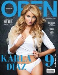 Karla Diaz revista open