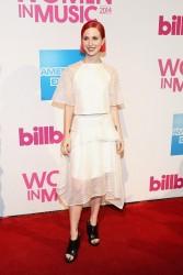 Hayley Williams - 2014 Billboard Women In Music Luncheon in NYC 12/12/14