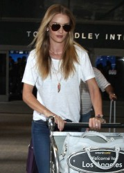 Rosie Huntington-Whiteley - LAX Airport 12/14/14