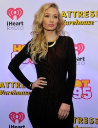 Iggy Azalea - HOT 99.5's 2014 Jingle Ball in Washington, D.C 12/15/14