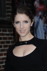 Anna Kendrick - at The Late Show with David Letterman 12/16/14