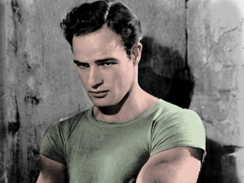 Marlon Brando - Colored Picture - x 1