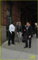 Jennifer Lawrence - Leaving her hotel in NYC 12/17/14