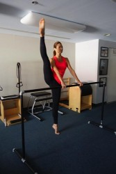 Stacy Keibler - Stretching