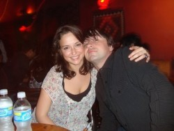 Milana Vayntrub at a Hookah Lounge in San Diego in 2009