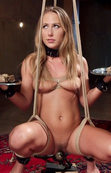 Carter Cruise Anal in Slave Training, Day One Cover