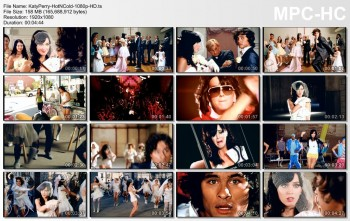 Katy Perry - Hot 'n' Cold - Official Music Video - 1080p HD - Caps+Video