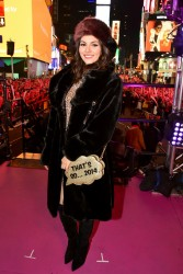 Victoria Justice - New Year's Eve 2015 In Times Square -