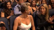 Kaley Cuoco cleavage at the 2015 People's Choice Awards, January 7, 2015