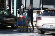 Charlize Theron Pushes a cart full of groceries in Los Angeles January 5-2015 x43