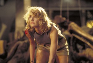 Парк Юрского периода / Jurassic Park (Сэм Нил, Джефф Голдблюм, Лора Дерн, 1993)  1bc6c0380761850