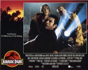 Парк Юрского периода / Jurassic Park (Сэм Нил, Джефф Голдблюм, Лора Дерн, 1993)  5014fa380762649