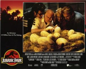 Парк Юрского периода / Jurassic Park (Сэм Нил, Джефф Голдблюм, Лора Дерн, 1993)  666511380762695