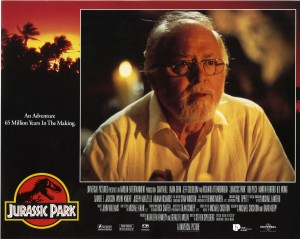 Парк Юрского периода / Jurassic Park (Сэм Нил, Джефф Голдблюм, Лора Дерн, 1993)  F09438380762686