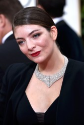 Lorde - 72nd Annual Golden Globe Awards in Beverly Hills 1/11/15